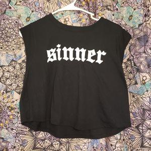 Sinner croptop